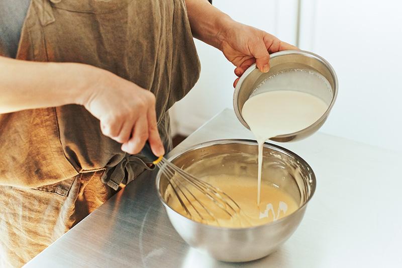バスクチーズケーキ 作り方