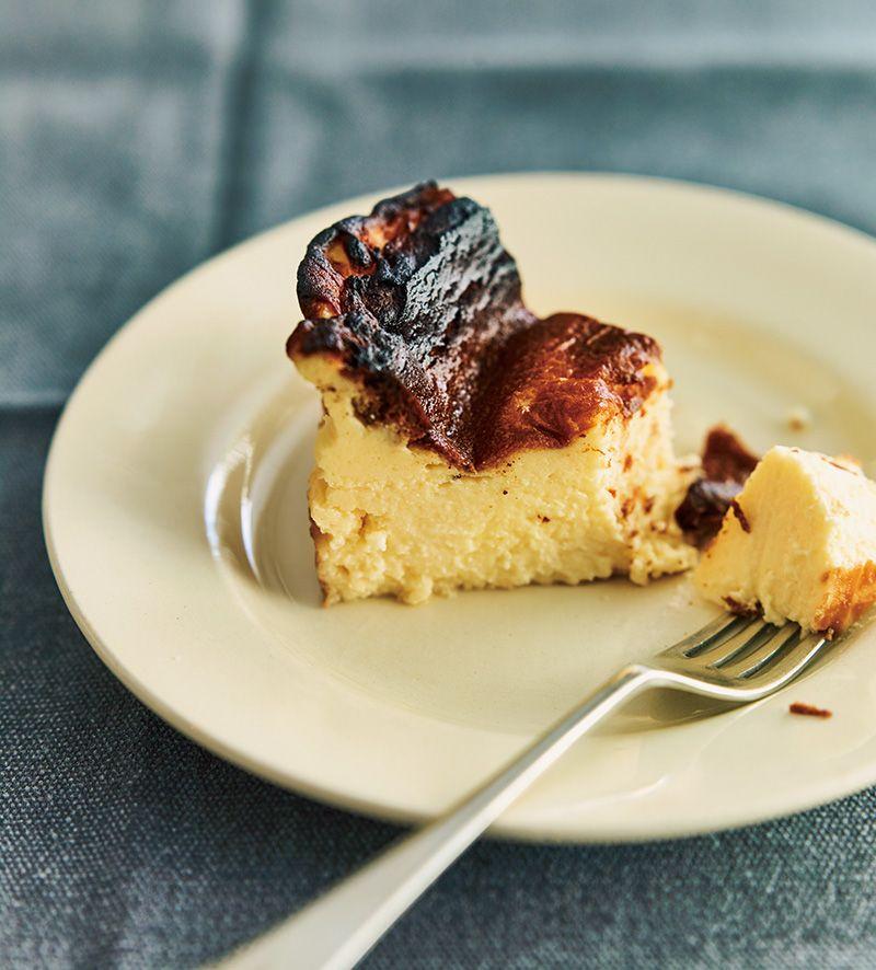 バスクチーズケーキ カット 断面