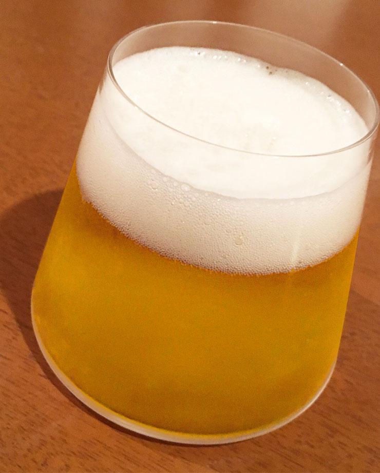 ビール お疲れ様の一杯
