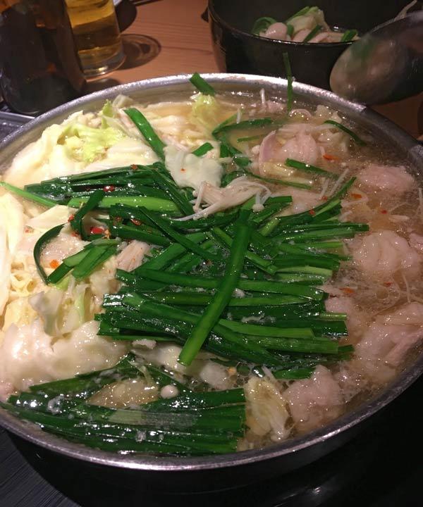 写真:博多のもつ鍋