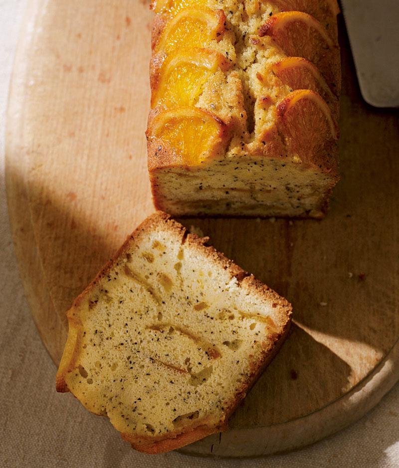 オレンジとアールグレイのパウンドケーキ