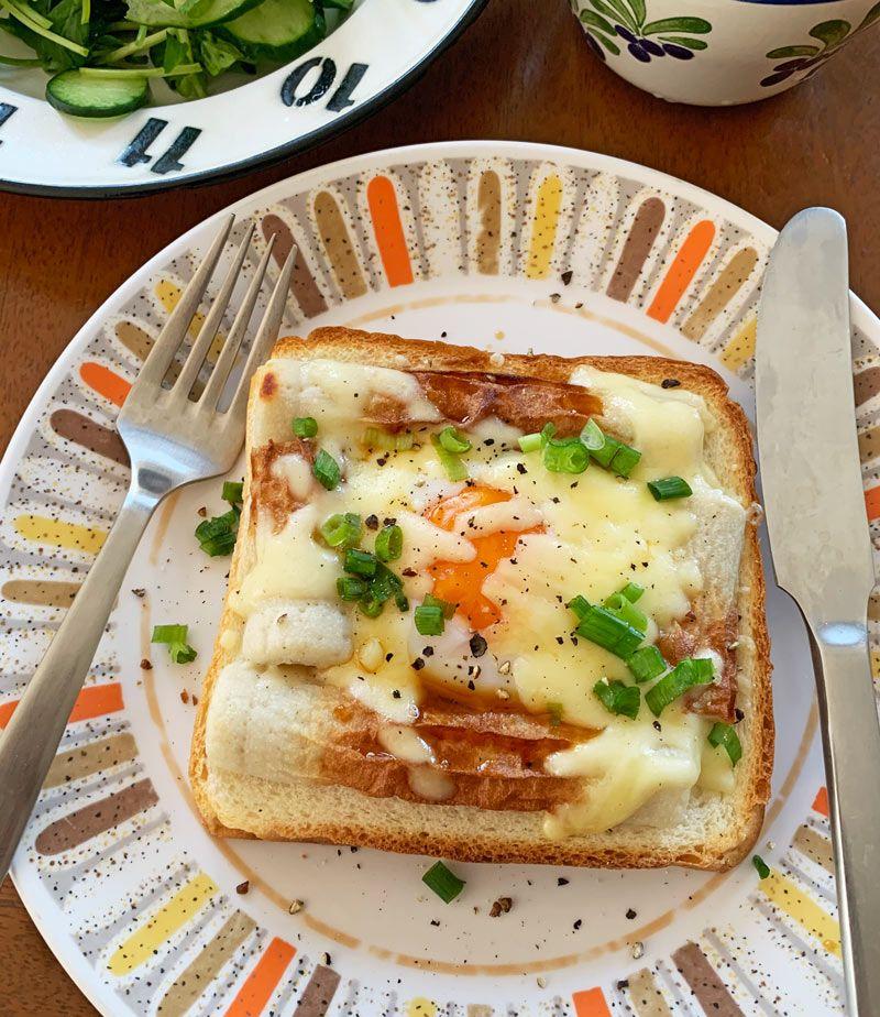 ちくたまチーズトースト
