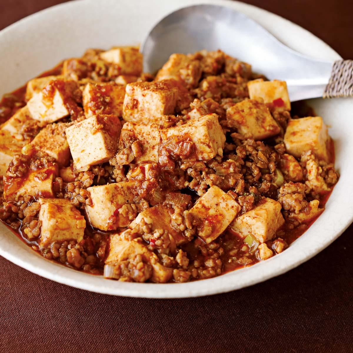 味つけ黄金比率の麻婆豆腐