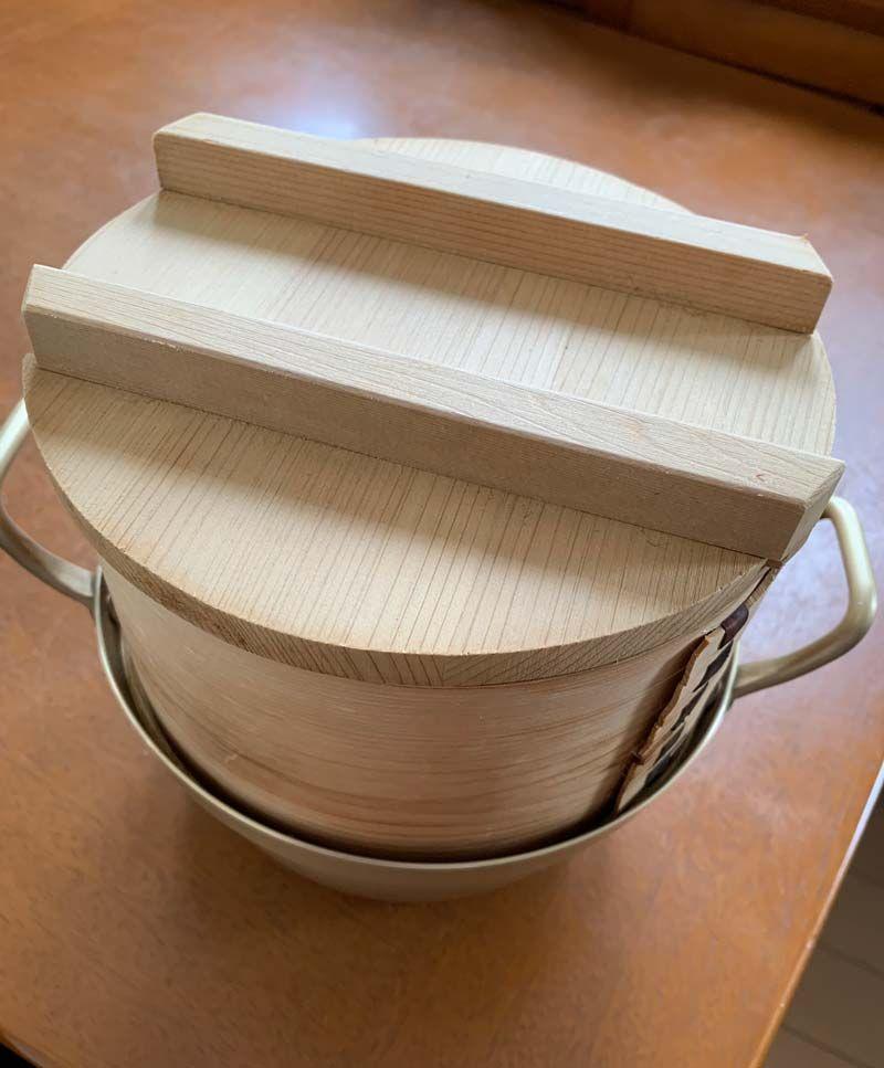 深さと容量のある「和セイロ」。専用の鍋つき