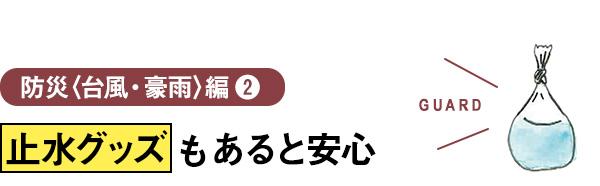 防災〈台風・豪雨〉編2