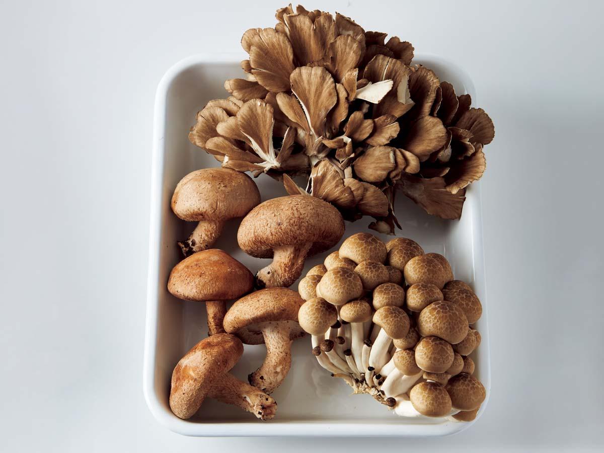 ヤセ菌が増える食材・きのこ