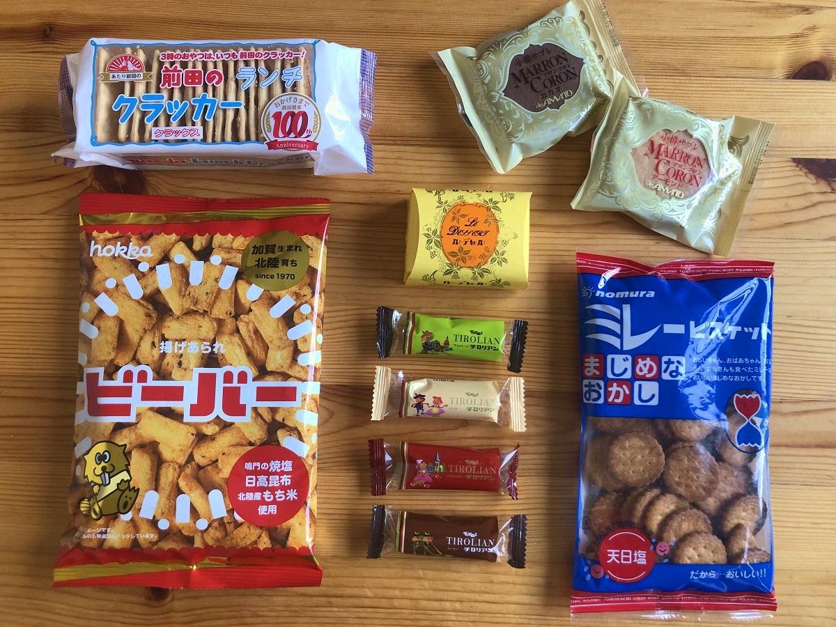 地元菓子6品