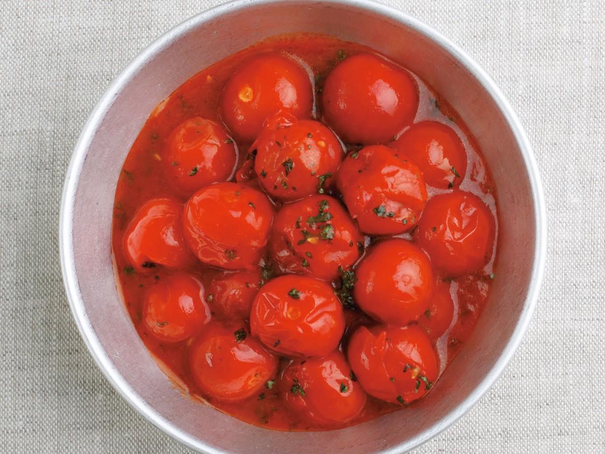 ミニトマトのレンジ煮