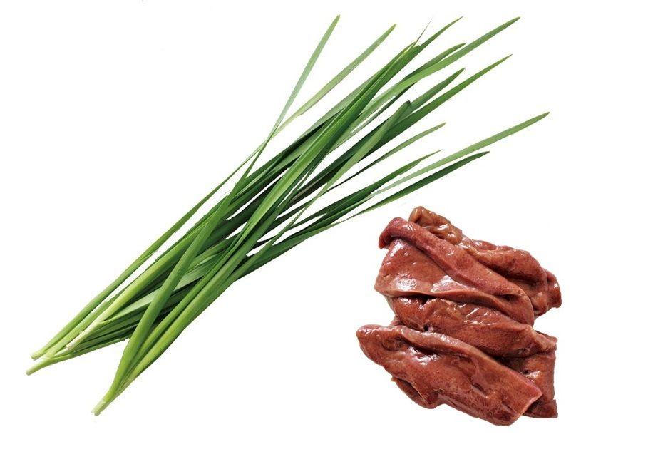 粘膜によい食材の組み合わせ③にらと豚レバー