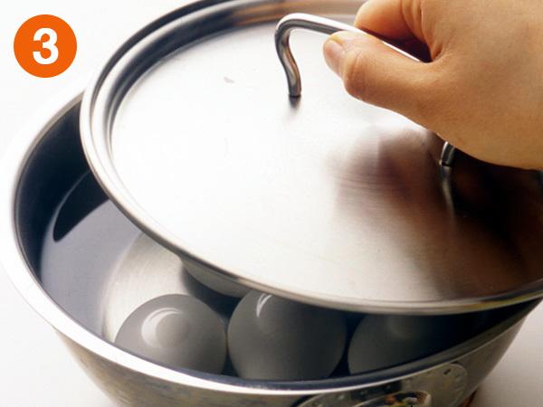 温泉卵を作る3