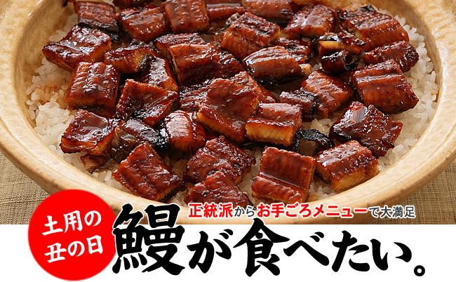 【土用の丑の日】夏バテ防止!うなぎレシピメニュー